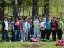 Засаждане на дървета в парк Боровец